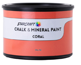 StarCraft Chalk Paint - Coral - 16oz Pint
