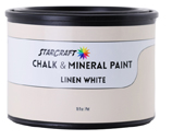 StarCraft Chalk Paint - Linen White - 16oz Pint