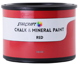 StarCraft Chalk Paint - Red - 16oz Pint