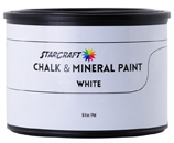 StarCraft Chalk Paint - White - 16oz Pint