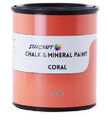 StarCraft Chalk Paint - Coral - 32oz Quart