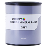 StarCraft Chalk Paint - Grey - 32oz Quart