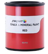 StarCraft Chalk Paint - Red - 32oz Quart
