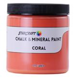 StarCraft Chalk Paint - Coral - 8oz Sample
