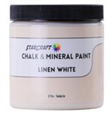 StarCraft Chalk Paint - Linen White - 8oz Sample