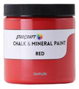 StarCraft Chalk Paint - Red - 8oz Sample