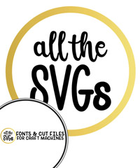 All The SVGs - Free SVGs and Fonts