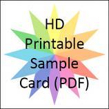 StarCraft HD Vinyl Printable Sample Card (PDF)
