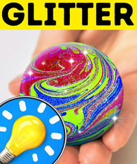 36 AMAZING GLITTER IDEAS TO MAKE YOU SHINE - 5-Minute Crafts