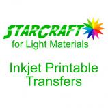 StarCraft Inkjet Printable Heat Transfers for Light Materials 10-Pack