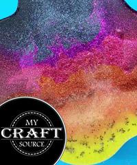 StarCraft Glitter Tutorial - My Craft Source