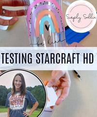 Testing StarCraft HD Permanent Vinyl | DIY Tumbler Project