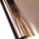 """25 Foot Roll of 12"""" StarCraft Electra Foil - Pink Gold"""