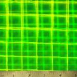 """12"""" x 50 Yard Roll - StarCraft Magic - Illusion Fluorescent Green"""