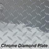 """12"""" x 50 Yard Roll - StarCraft Metal - Diamond Plate Silver"""