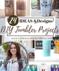 LITTLE LOVELIES BY ALLISON - Tumbler Projects
