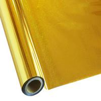 """25 Foot Roll of 12"""" StarCraft Electra Foil - Holographic Gold Pixie Dust"""