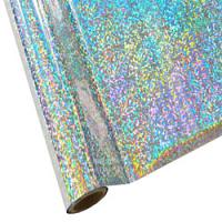 """25 Foot Roll of 12"""" StarCraft Electra Foil - Shattered Glass"""